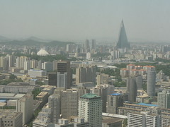 View of Pyongyang from Yanggakdo Hotel (mikestuartwood) Tags: asian asia north korea communist communism korean socialist socialism northkorea dprk dpr northkorean dprkorea dprkorean