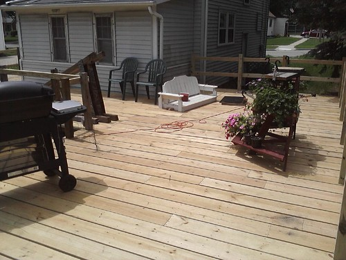 The deck!