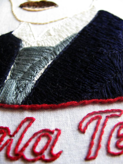 Tesla Shirt Detail 2