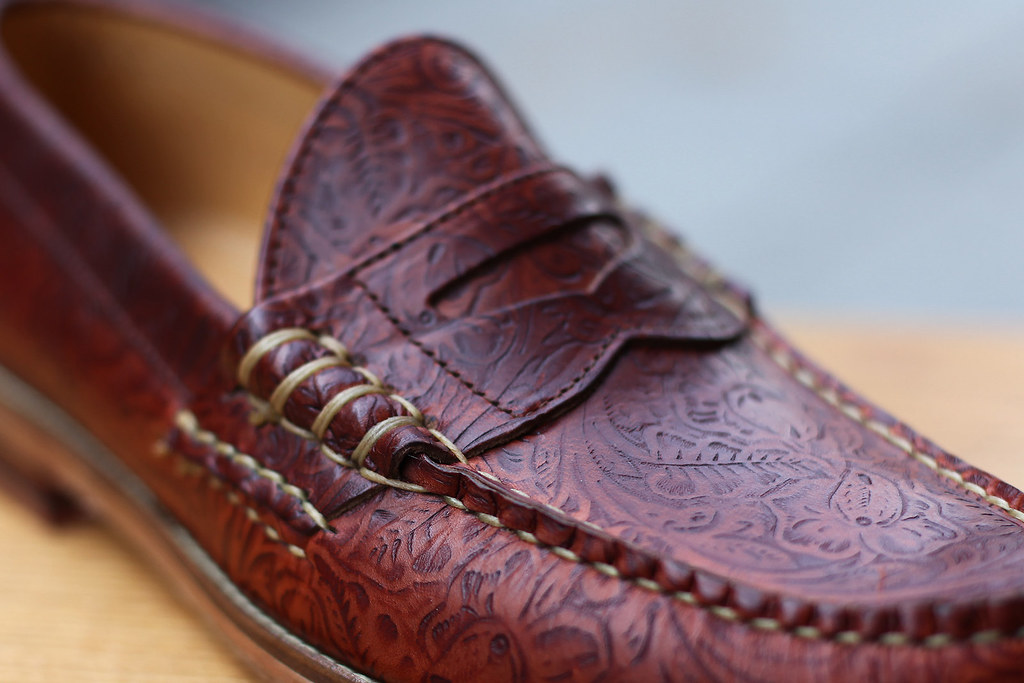 Penny Loafer… Western Print