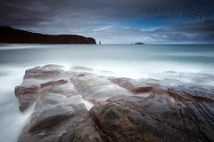 Sandwood Bay Beach Photography - Explored (Pete Barnes Photography) Tags: longexposure sky cloud holiday storm beach rain rock misty photography scotland highlands sand rocks moody northwest sandy dune highland slowshutter etheral sandwood lairg sandwoodbay beachphotography
