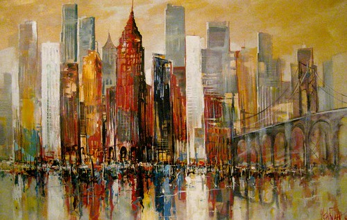 New York City - Painting - Modern Impressionism