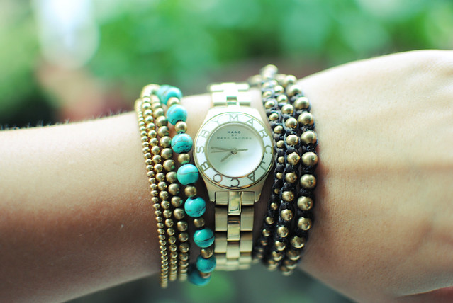 Marc by Marc Jacobs watch & bracelet stack