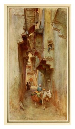 001-Vendedor de melones-An artist in Egypt (1912)-Walter Tyndale