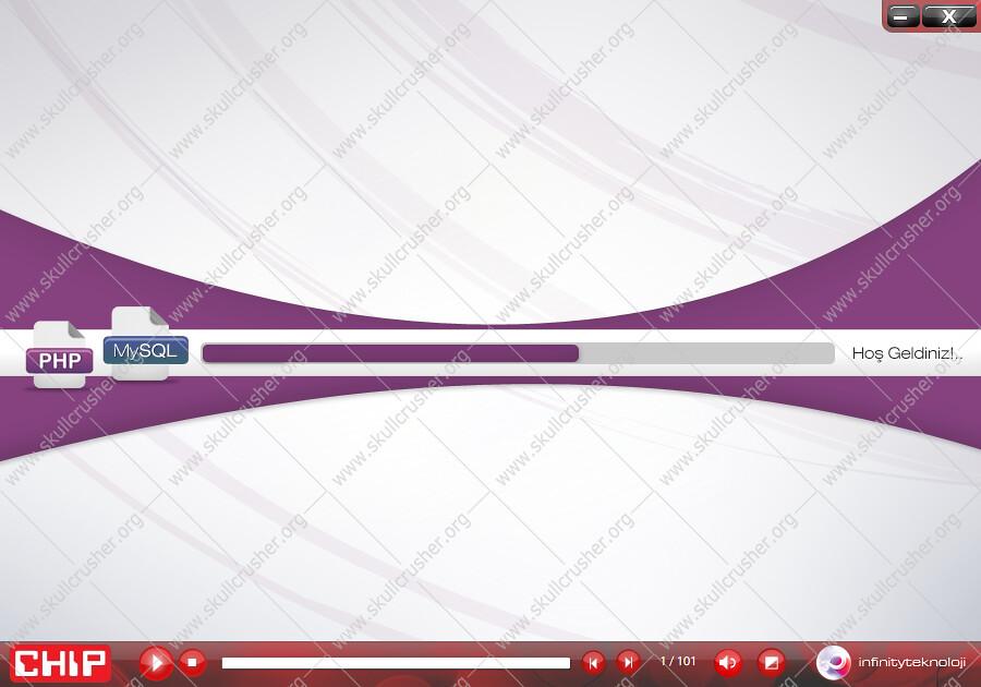 PHP ve MYSQL Görsel Eğitim Seti Chip CD'si 2 (Online İzle)