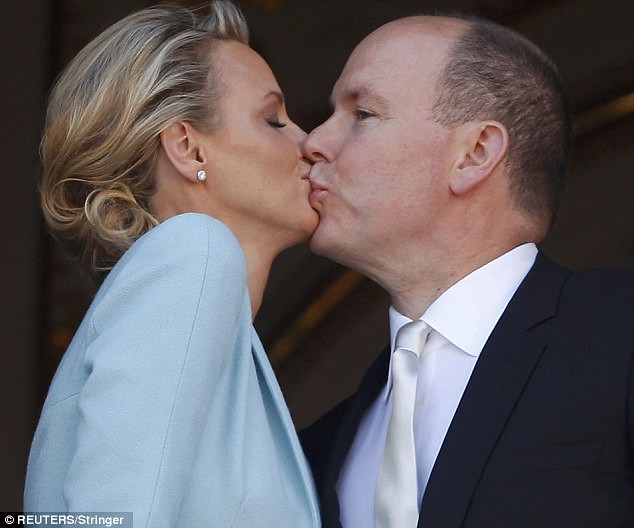 Monaco bathed in fireworks for wedding of Prince Albert and his 'runaway bride'..   7