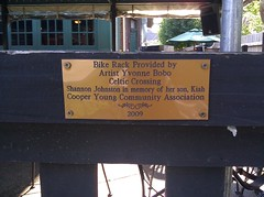 Cooper Young bicycle rack