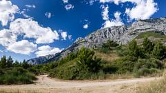 Biokovo (Constantine016) Tags: sky panorama mountain clouds pentax croatia 1855 kx biokovo