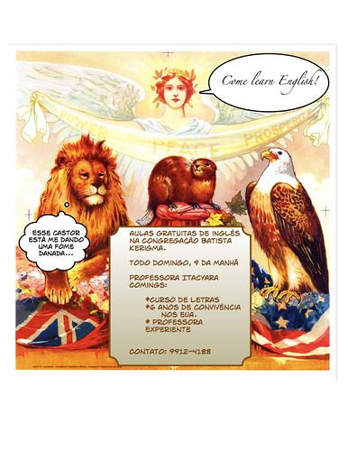 English School Poster