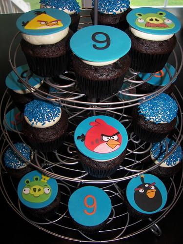 Duncan's Angry Bird Birthday