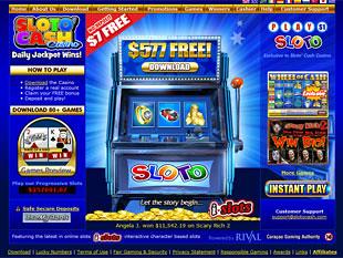 SlotoCash Casino Home