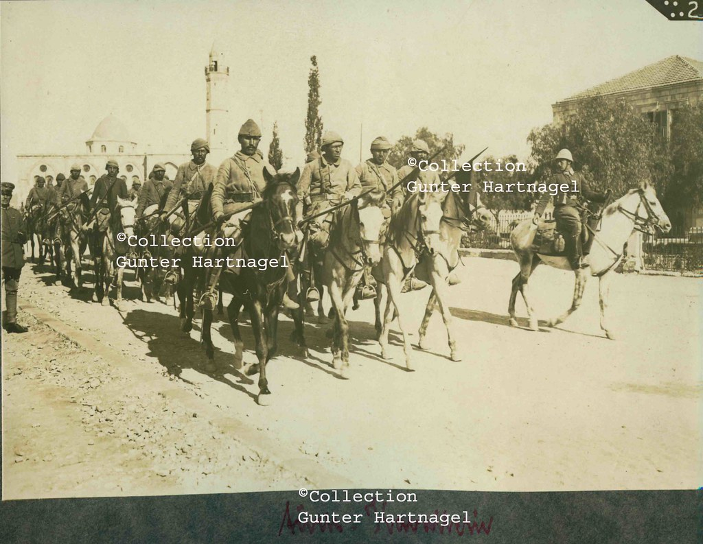 Be'er Sheva, Ottoman cavalry parade