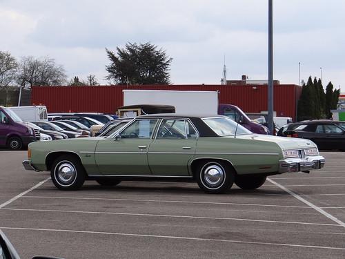 1975 Chevrolet Impala 4 Door Sedan A Photo On Flickriver