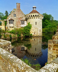 Scotney Castle Landscape Gardens, Kent, England | View of castle ruins reflected in moat (1 of 16) (ukgardenphotos) Tags: uk wallpaper england castle english gardens reflections garden geotagged kent ruins azaleas calendar screensaver f80 moat nationaltrust picturesque tranquil provia100f scotney rhododendrons nationaltrustgardens oldcastle castleruins moatedcastle scotneycastle historicgarden castlegardens ruinedcastle picturepostcard lamberhurst wetreflections landscapegardens lakereflections medievalcastle scotneycastlegardens colorfulreflections englishcastle romanticruins awesomecolors romanticgarden lakesidereflections geo:country=england quarrygardens bestcastle geo:city=tunbridge geo:zip=tn38jn geo:lat=51091469 geo:lon=0410991
