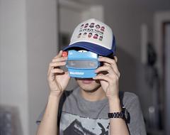 Viewmaster N. (CosmosWeDance) Tags: boy film mediumformat pentax retro 6x7 67 viewmaster reala