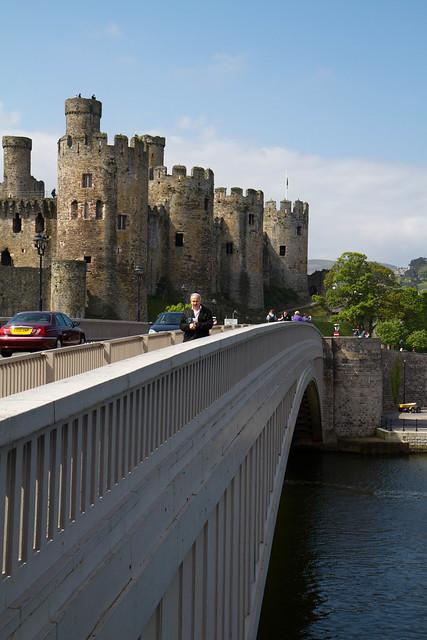 Conwy Road Bridge and Castle