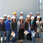 "<b>DSCN0999</b><br/> German 201 Intermediate German visited the Luther College wind turbine as a part of the sustainability unit imbedded in the course.  The students had learned the component words in German and built wind turbine models from German language kits before seeing Luther's turbine in action.  While there, they completed a worksheet about wind direction and speed that day, using a German compass and wind scale.  Names of the students are Heather Viste, Jordy Barry, Katrina Rohr, Doug Winkey, Kari Imhof, Andrew Freeman, Cale Austin, Connor Jones, Hailey Magoline, Sarah Edwards, Annika Ring, and Shanelle Froehle.         <a href=""//farm6.static.flickr.com/5151/7369700418_9cdf50a997_o.jpg"" title=""High res"">∝</a>"