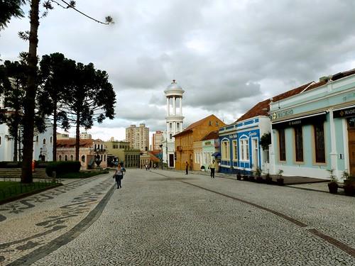 Centre historique de Curitiba, Brésil