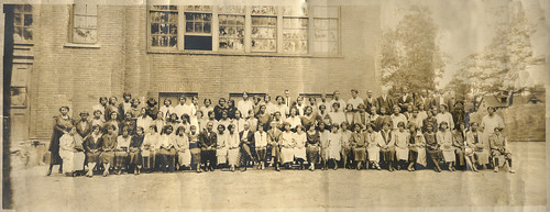 "Circa 1940 Summer School AA Teachers • <a style=""font-size:0.8em;"" href=""http://www.flickr.com/photos/12047284@N07/13918982628/"" target=""_blank"">View on Flickr</a>"