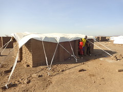 South Sudanese Refugees in Kenya (CanLWR) Tags: family tents construction mud kenya refugees bricks aid walls camps rains shelters sudaneserefugees settlementidp