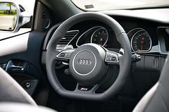 Audi RS5 Steering Wheel (DennisGRILLT) Tags: detail hp nikon 4x4 5 no may engine s mai turbo automatic topless cylinder motor audi rs a5 cabrio eight oben 42 v8 rpm kilowatt liter 4wheeldrive cabriolet fourwheeldrive s5 quattro 2014 ohne acht zylinder sline 8250 umin allrad gmbh rasthof automatik a rs5 ottomotor pferdestrken 8zylinder allradantrieb aspirated neckarblick 450ps stronic 430nm d7000 4163ccm 7gang 331kw unsupercharged saugmotor