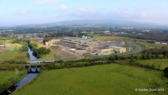 IMG_3522 (ppg_pelgis) Tags: omagh northern ireland aerial photo ppg paraglider uk tyrone hospital mclaughlin harvey construction camowen build new enhanced local