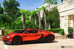 Bugatti Veyron RRR (Raphaël Belly Photography) Tags: red black car french real rouge photography eos hotel al holding riviera photographie estate rich group uae wrap f1 casino montecarlo monaco bin 64 belly exotic chrome r 7d passion crocodile 164 carlo monte rrr hermitage raphael bugatti rb spotting gp eb w16 supercars 1001 rashid veyron ajman rashed raphaël in principality chromed nuaimi ettore humaid ressources