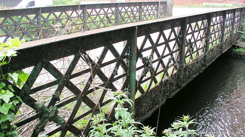 Footbridge at Belper River Gardens by Andrew Handyside