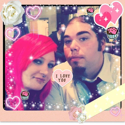 Snapeee edit! Me and simon! <3
