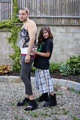 0611_5 (ericaalee) Tags: boy cute boyfriend girl outside outdoors girlfriend couple sister crossdressing crossdresser crossdress daniella