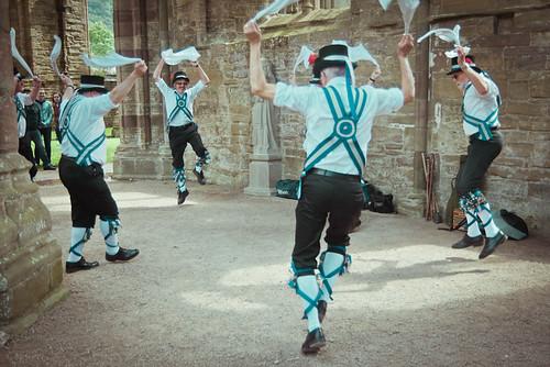 Morris Dancing, Tintern Abbey
