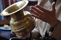 Caroline Lawrence's spittoon