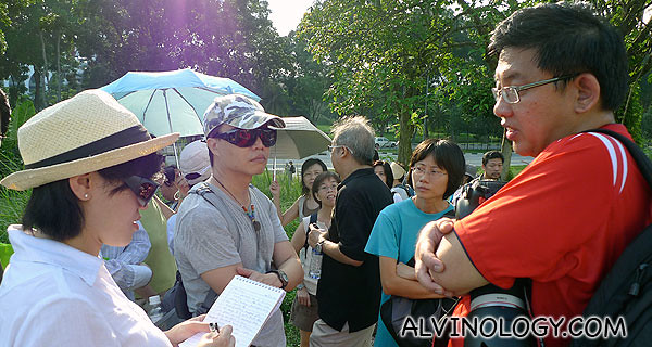 Rachel interviewing Jerome Lim