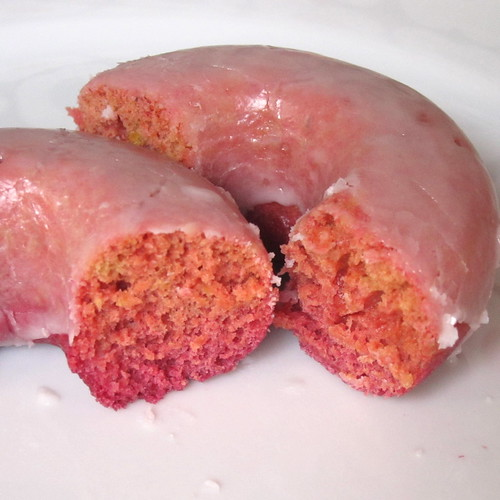 Beet Donuts