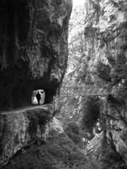 Los Picos (smokey lace) Tags: mountain hike gorge picosdeeuropa