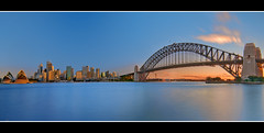 Sydney (just goes to show ~ Rob) Tags: sunset house highway opera long exposure harbour sydney bradfield kirribilli