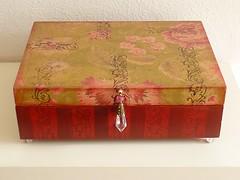 CAIXA (MERCEDES DURÁN) Tags: artesanato decoração decoupage manualidades caixas pinturaemmadeira