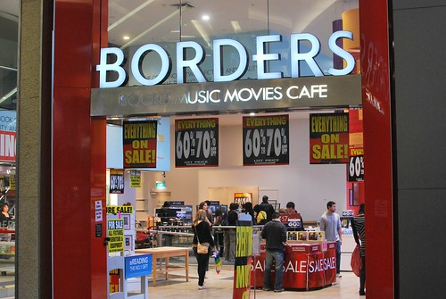 Borders closing in Bondi Junction