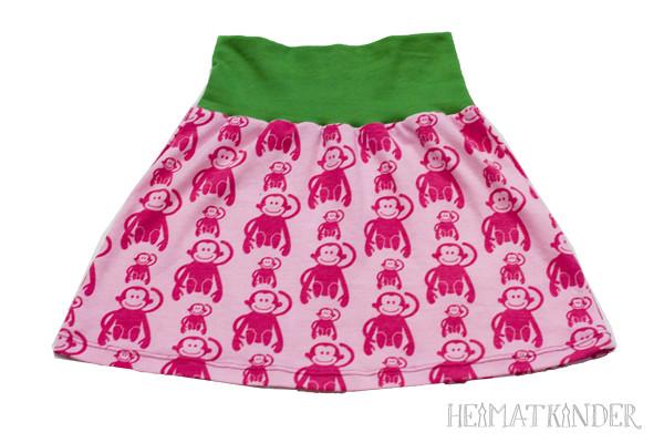 Monkey Jersey Skirt //Affenjerseyrock