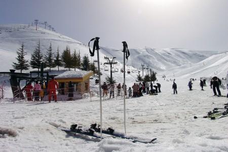 Libanon - exotický snowboarding