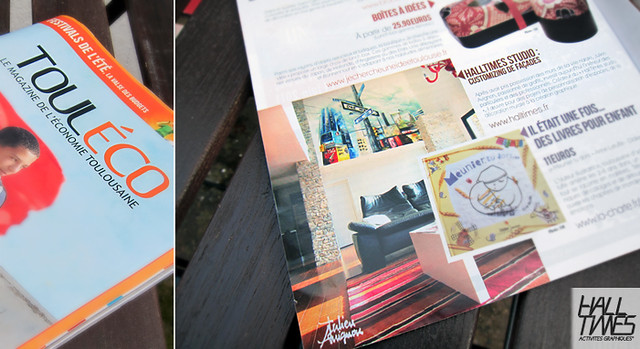 HALLTIMES dans TOULÉCO Magazine