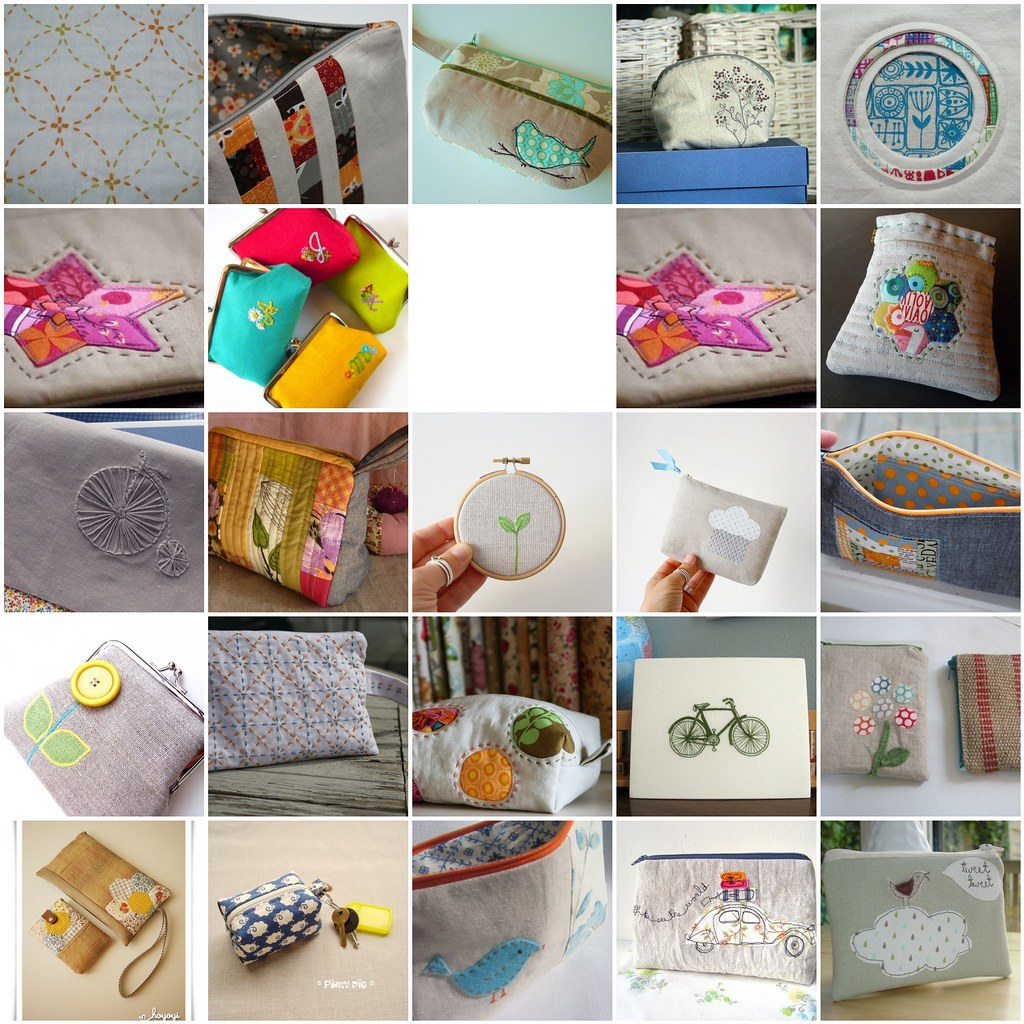 Pretty {little} Pouch Swap Inspirations