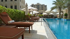 Pool at Al Manzil Dubai by Justin Morris, 48 Hour Adventure