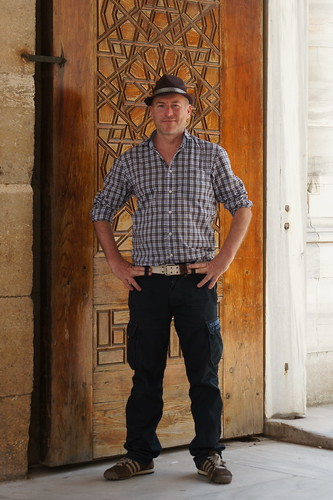 Charles at the Selimiye Mosque in Edirne by CharlesFred