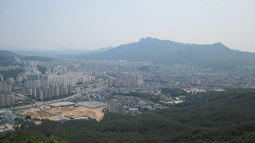 Picture from Cheonbo-san Mountain