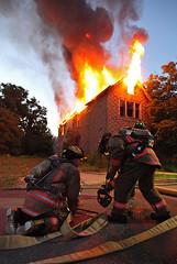 Buffalo fire - Adams / Beckwith (johnhanleyphoto) Tags: street new york usa alarm fire buffalo fighter adams side working east firefighter beckwith of