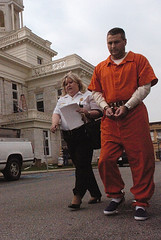 Inmate Trasferred County Jail (Bear Truck Hot) Tags: usa ky thursday lawrenceburg october20 2005mountainworkshops westenkentuckyuniversity dsc3717jpg 2005124642