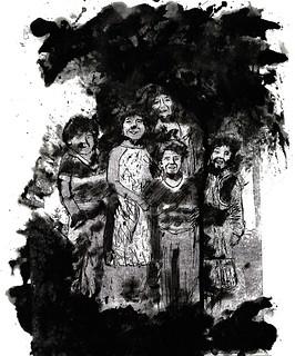 grabado+tinta