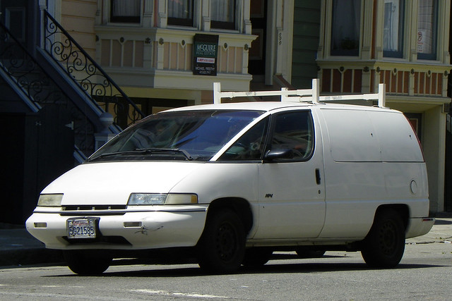 sanfrancisco chevrolet car cargo chevy van lumina apv