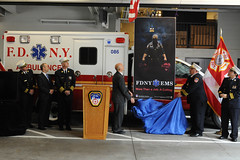 FDNY EMS Week 2012 Poster Unveiled (Official New York City Fire Department (FDNY)) Tags: nyc newyorkcity poster paramedics ems fdny nyfd emergencymedicalservice emts newyorkcityfiredepartment emergencymedicaltechnicians salvatorecassano emsweek abdonahmod edwardkilduff